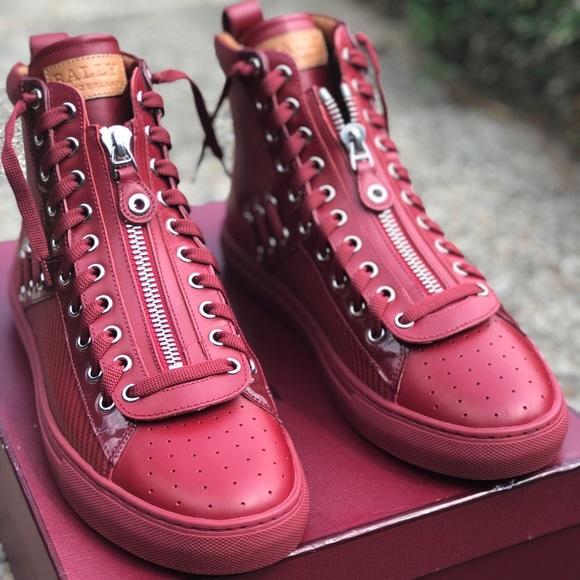Bally Shoes | Bally High Top Men Shoe